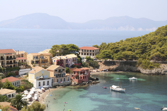 Direct flight to Kefalonia from UK destinations